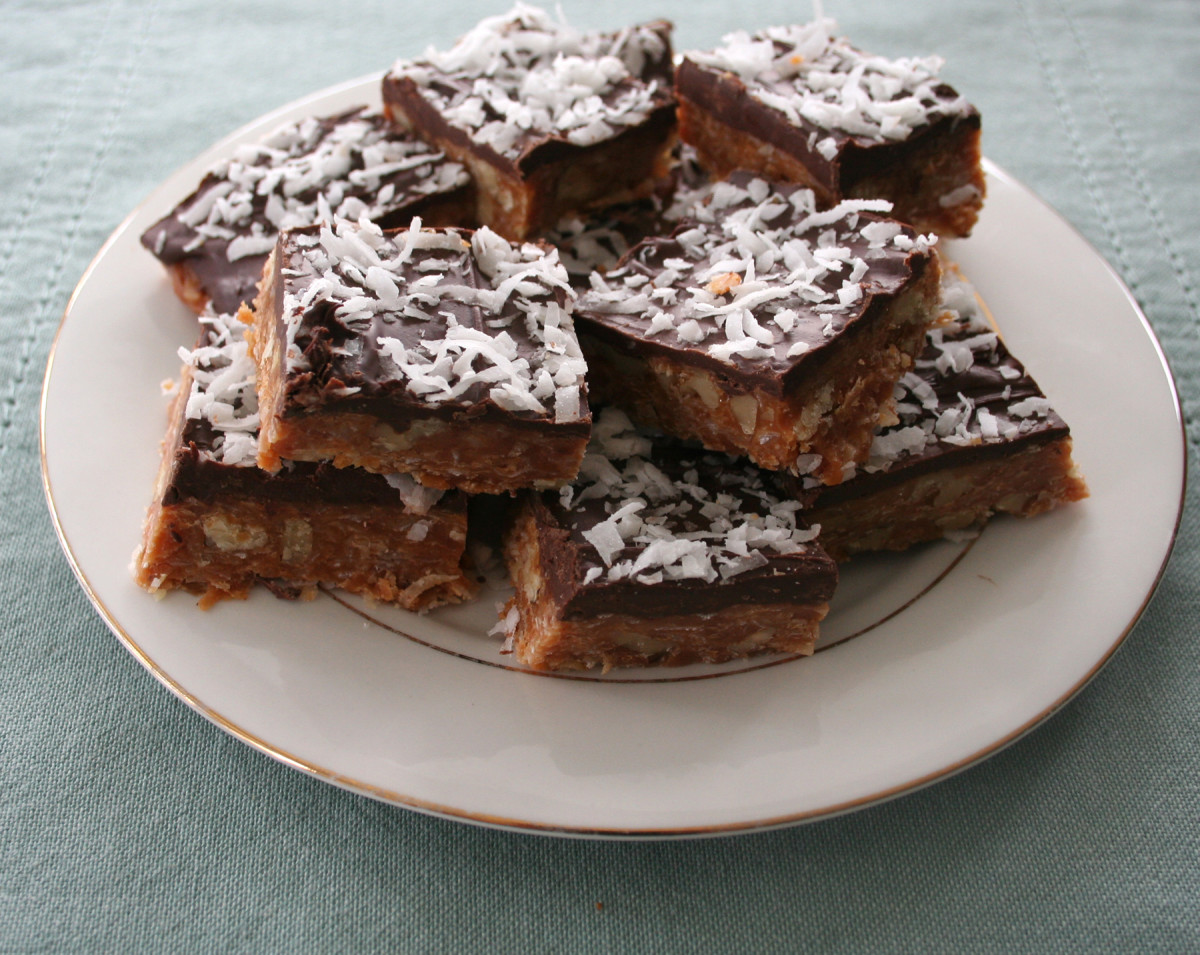 Mary's Caramel Squares - delicious!