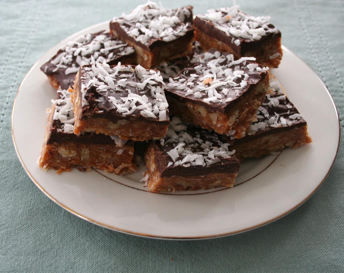 Mary's Delicious Caramel Squares Recipe