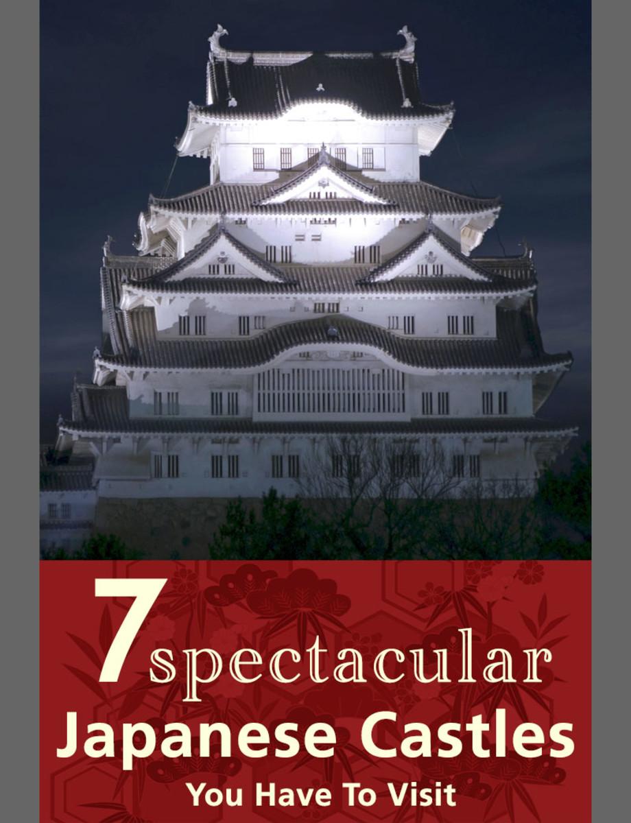 Spectacular Japanese castles. A symbol of medieval Japan.