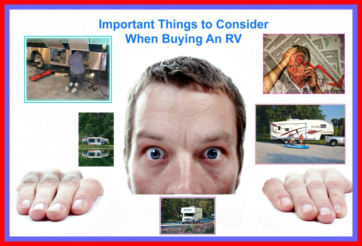 Important Things You Need to Think About When Buying RVs