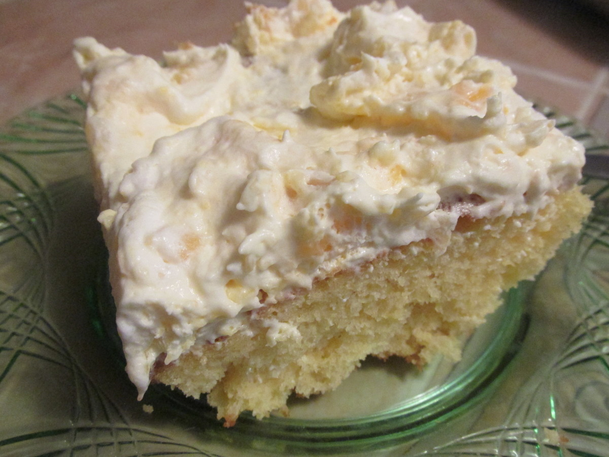 Easter Pineapple Cream Cake Recipe