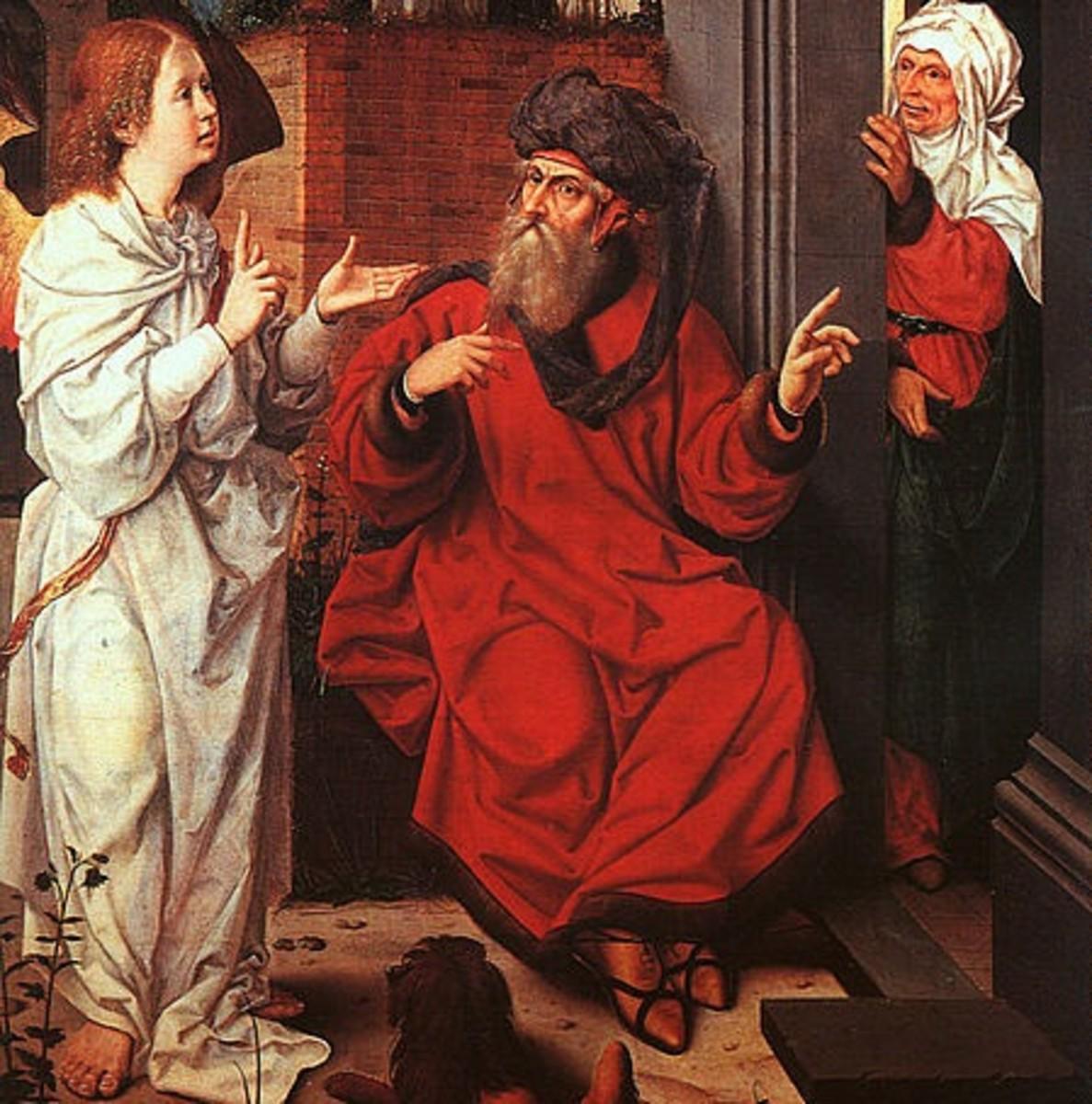 Four Aged Bible Women and Their Spiritual Legacies