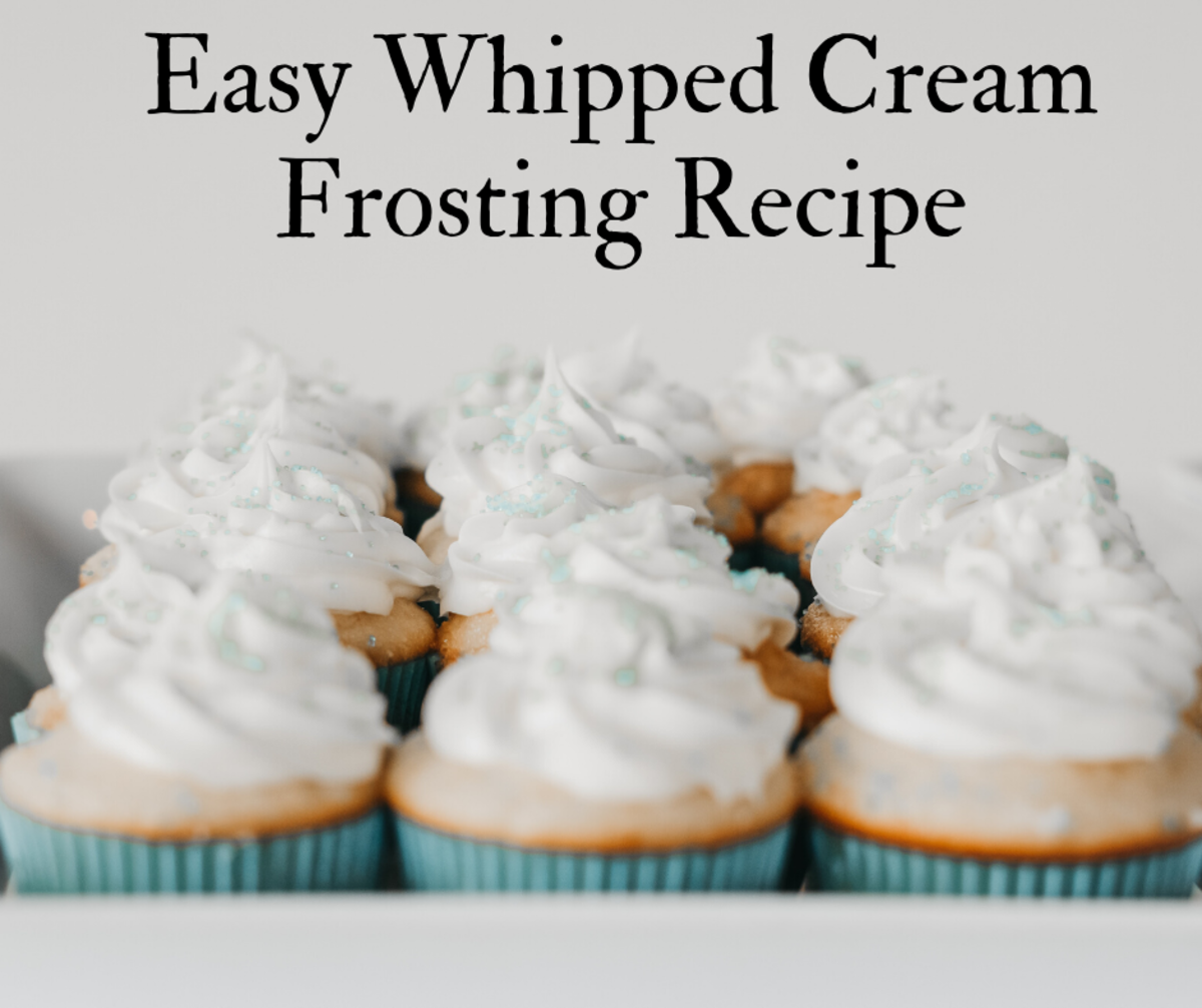 Quick and Easy Whipped Cream Frosting Recipe