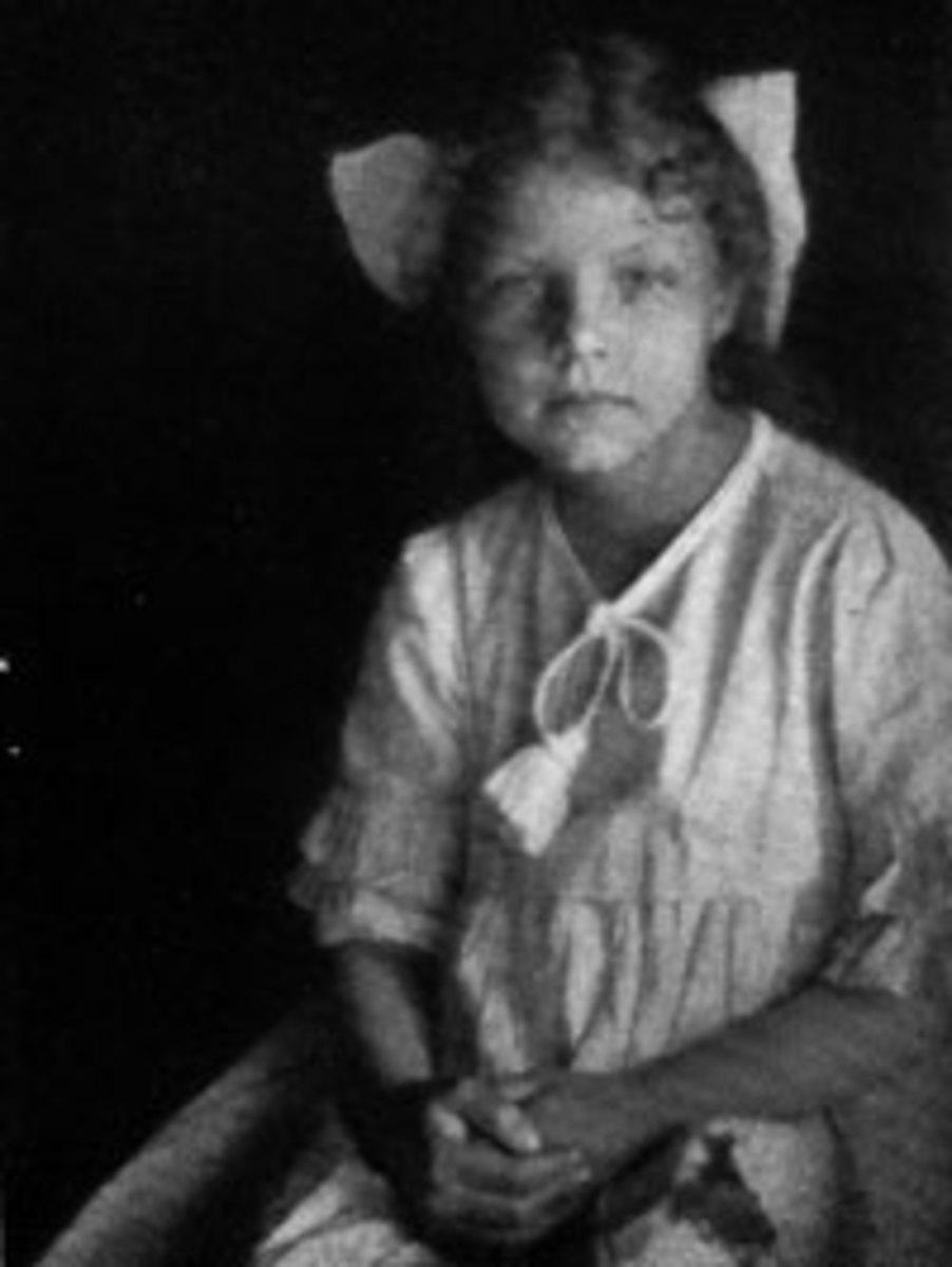 Hilda Conkling age 8
