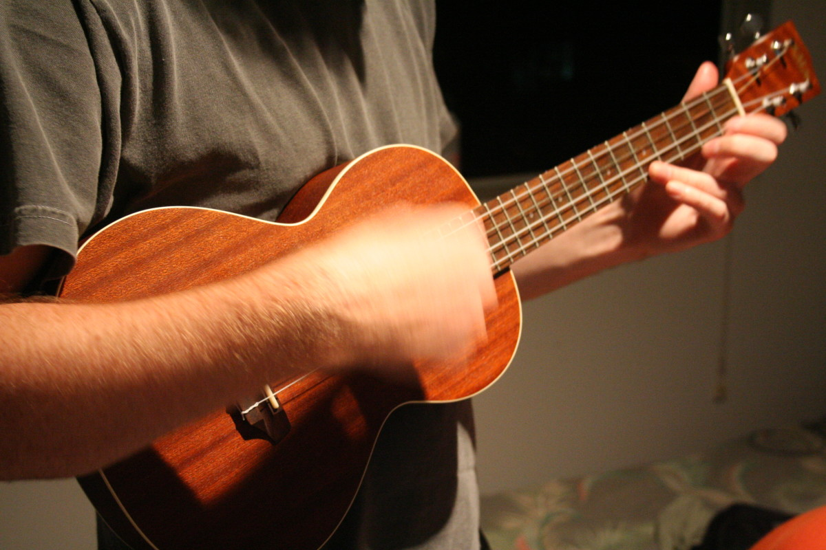 Alternative Fingering for Notoriously Hard Ukulele Chords | Spinditty