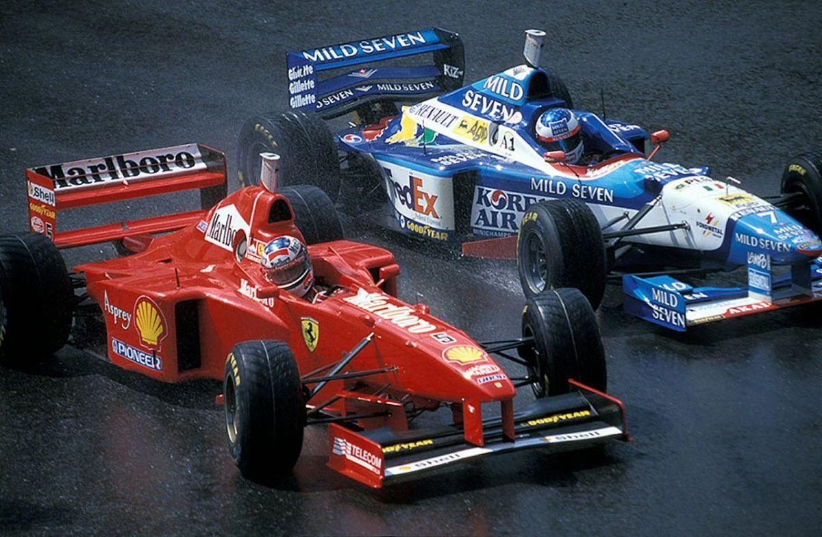 The 1997 Belgian GP: Michael Schumacher's 26th Career Win