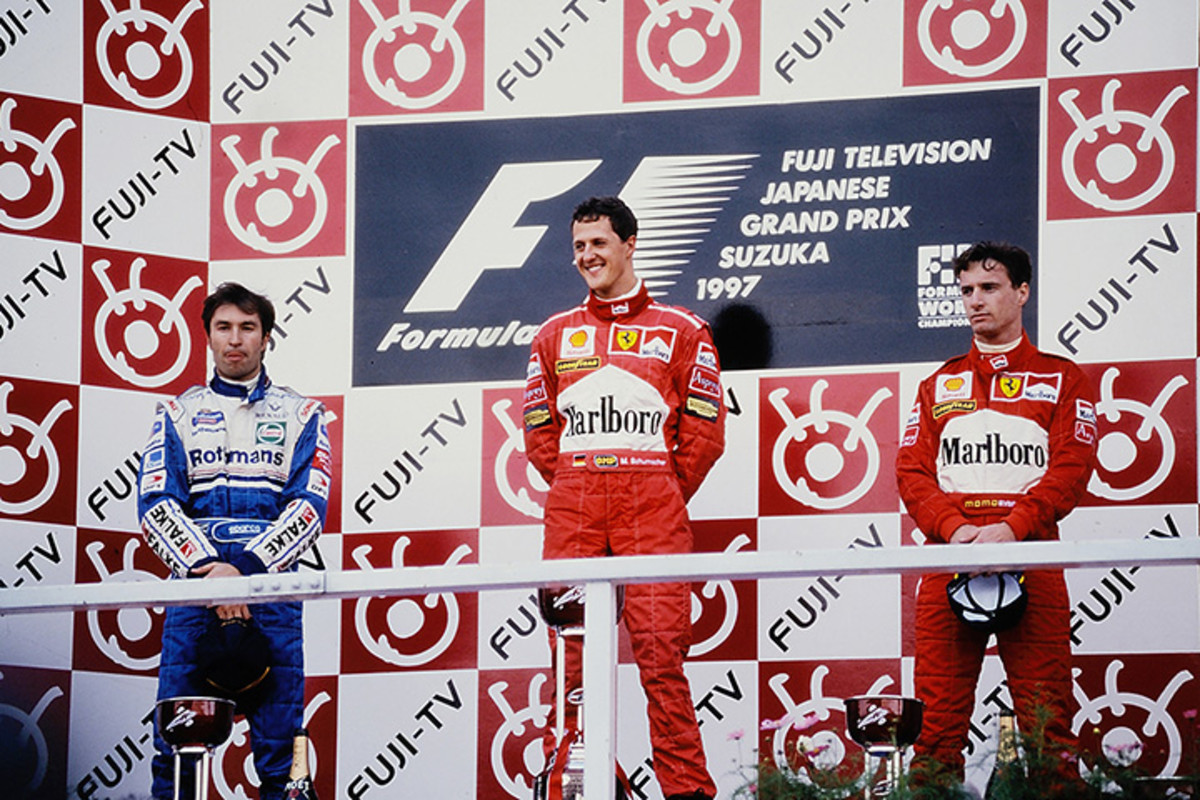 The 1997 Japanese GP: Michael Schumacher's 27th Career Win