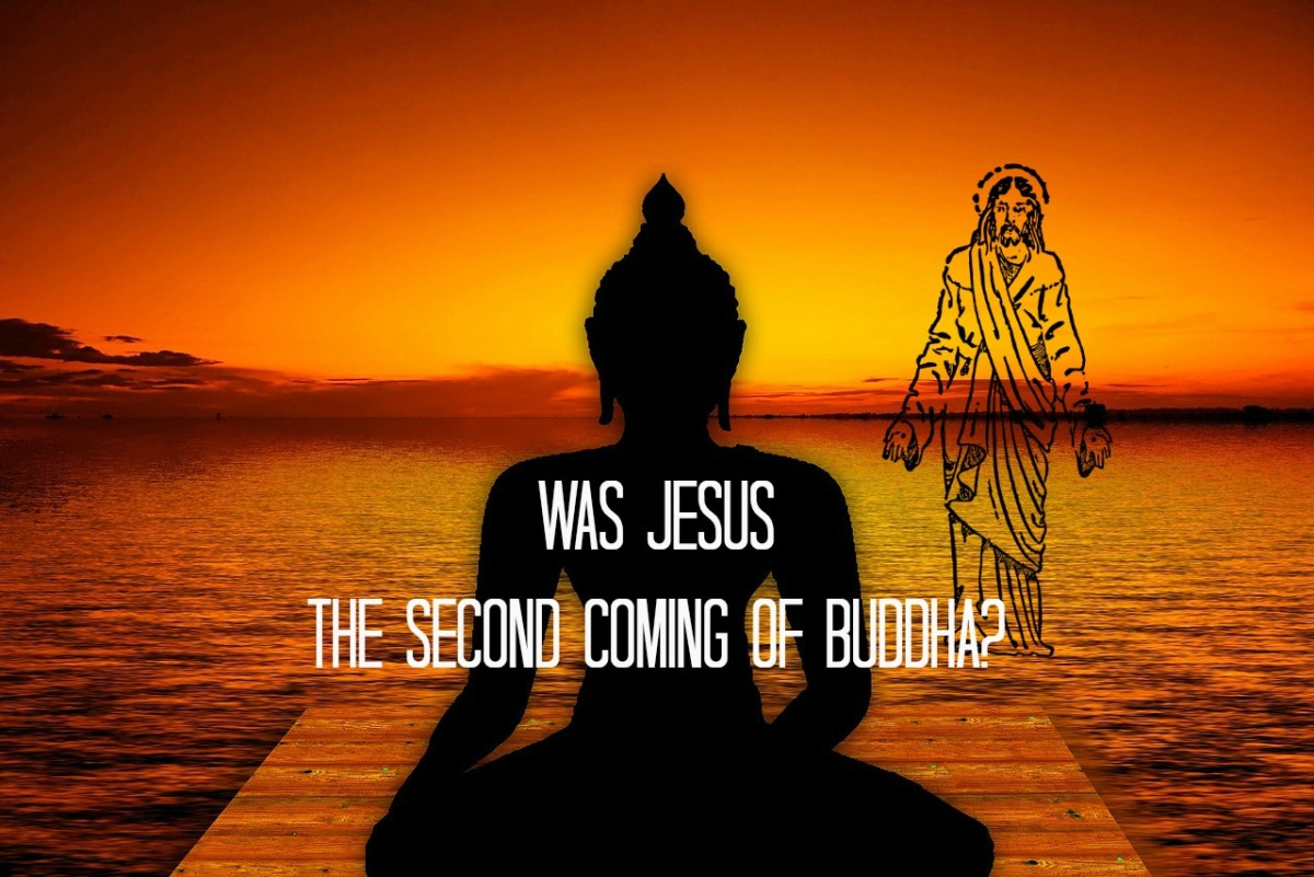 Was Jesus the second coming of Buddha?