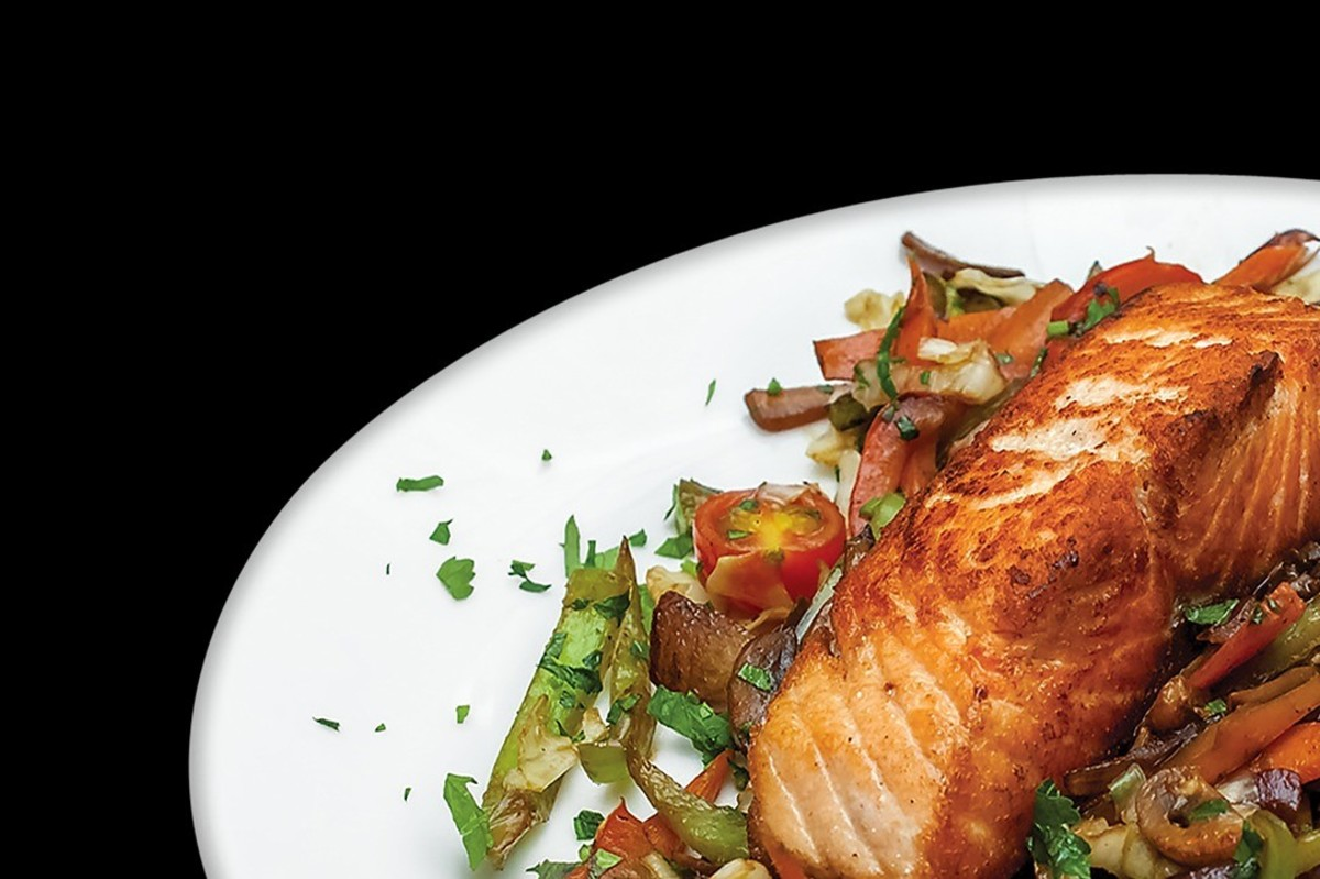 Salmon is a Pacific Northwest specialty.