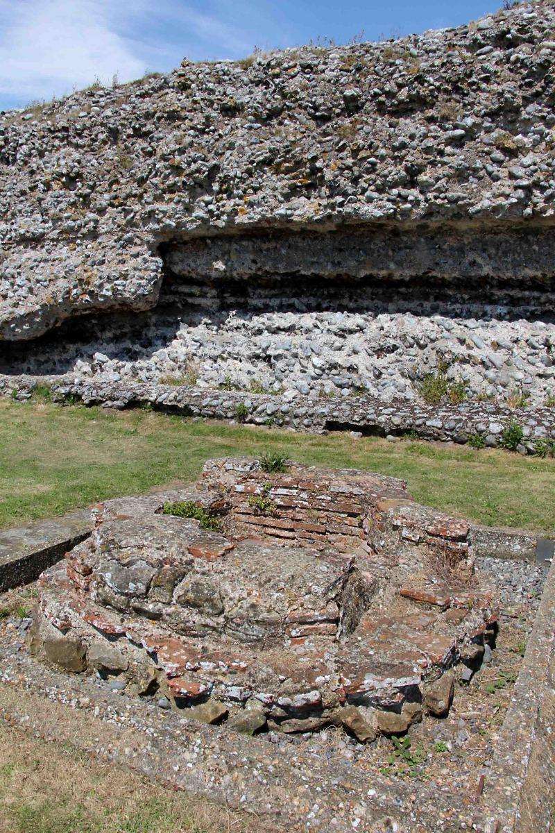 The ruins of Richborough