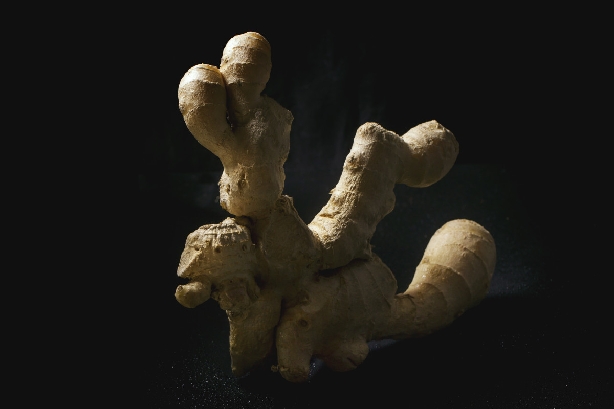Fresh ginger is better than the powdered varieties in teas.