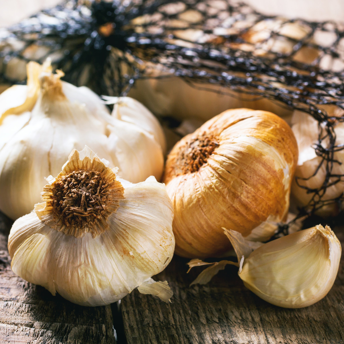 Garlic is best taken raw.
