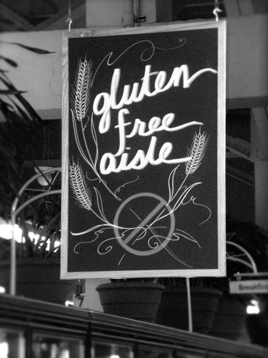 Gluten Free Aisle. Image by Whatsername? CC BY-SA 2.0