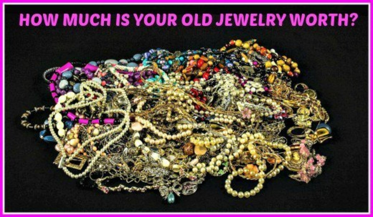 There are many different levels and types of jewelry, all of which have different values.