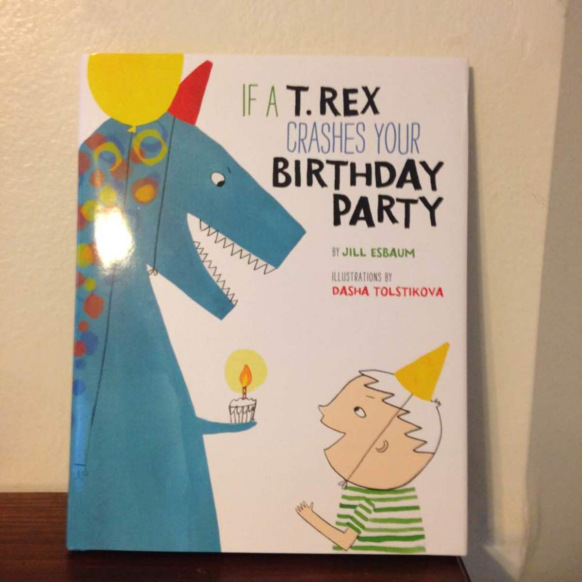 Would you invite a t-rex to your party?