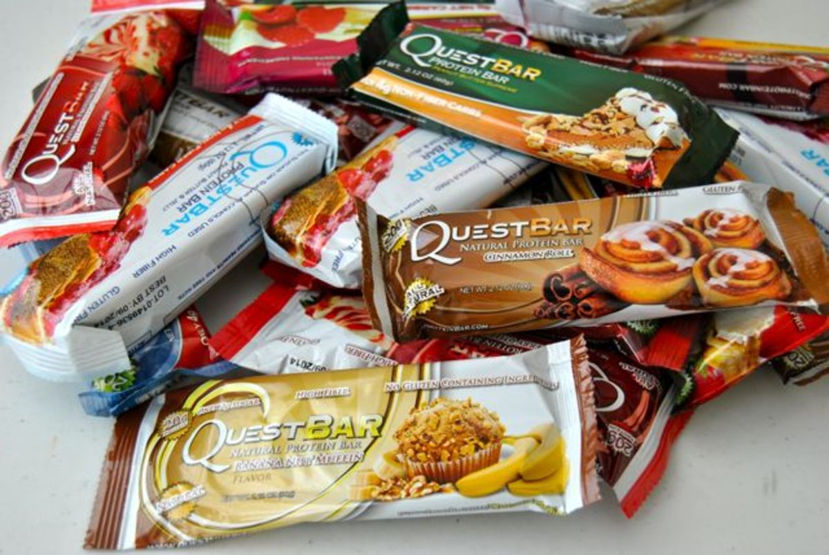 There's a huge variety of different Quest Bars to choose from!