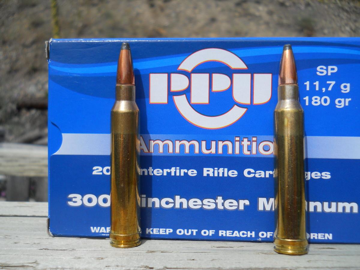 Ammunition Test: Prvi Partizan .300 Winchester Magnum 180 Grain Soft-Point