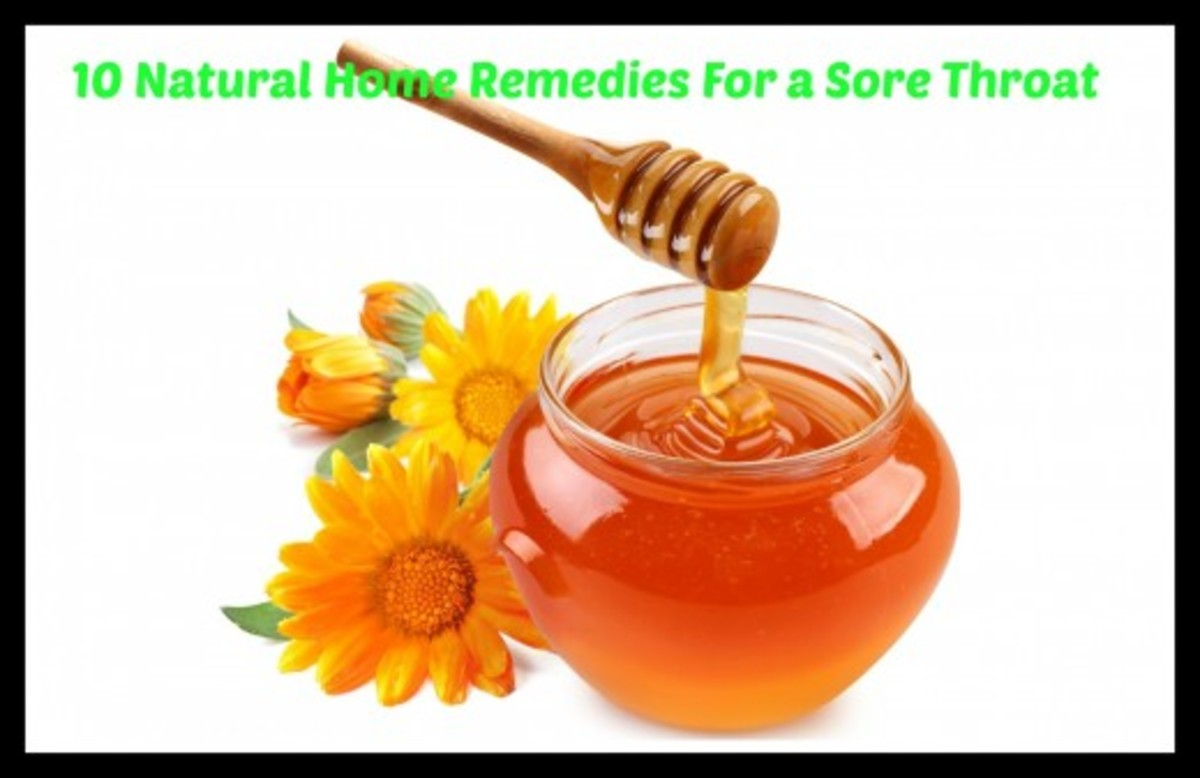 10 Home Remedy Ideas For a Sore Throat