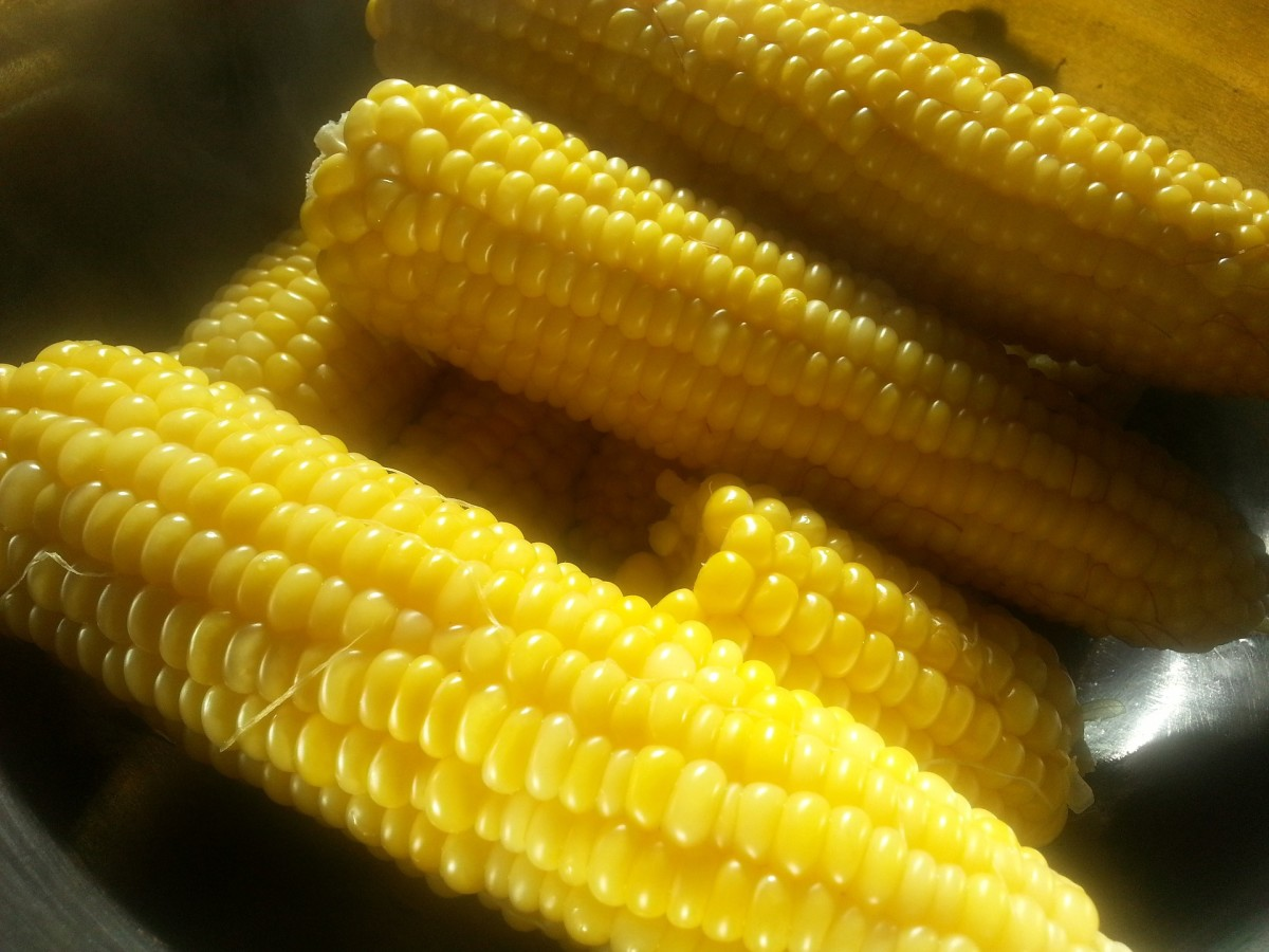 All About Fruits and Vegetables--Sweet Corn