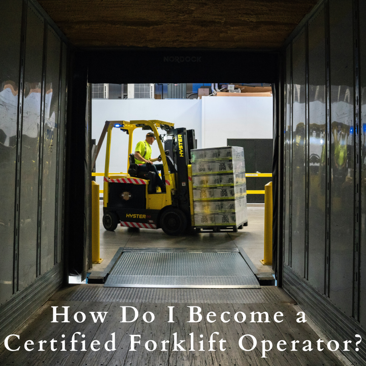 Having a forklift license can help you when looking for a job. Read on to find out how.