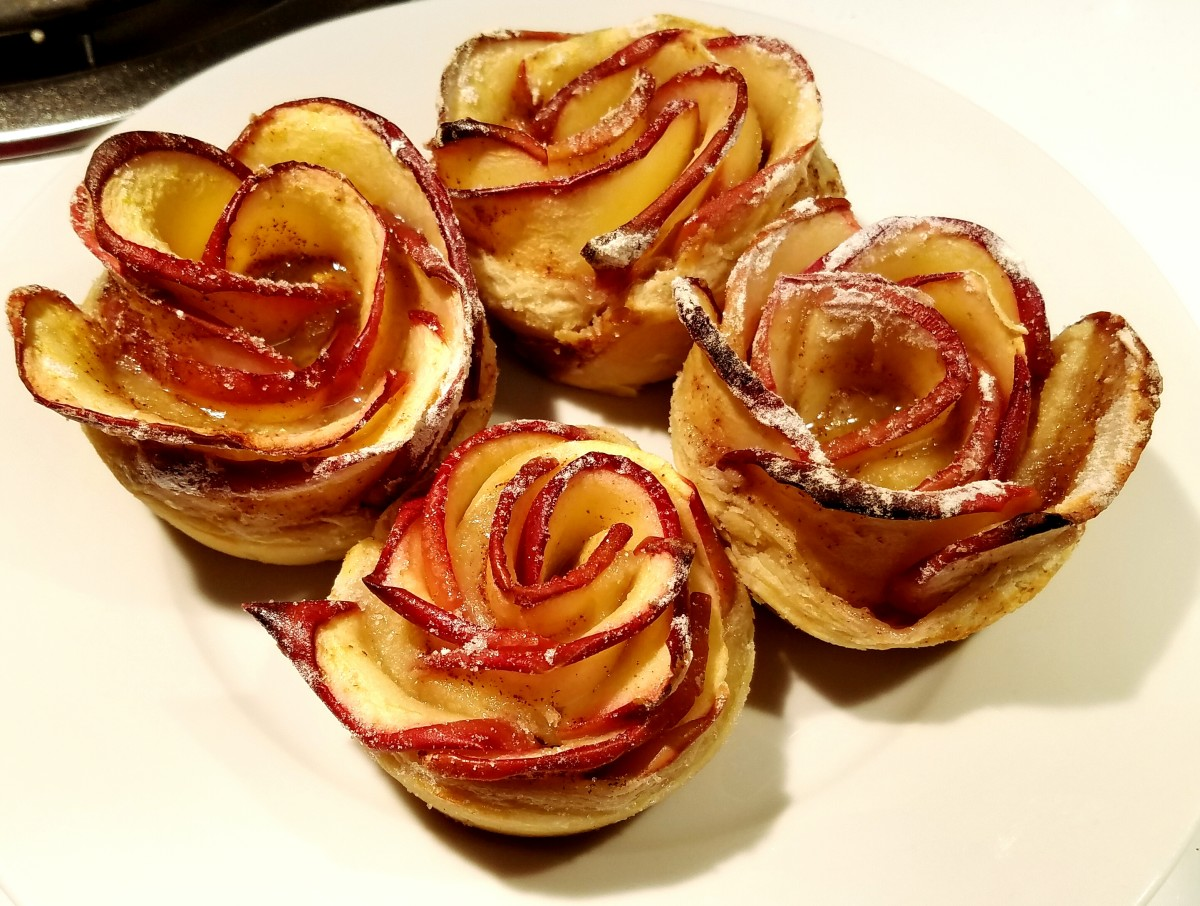 These beautiful apple roses are sure to wow your guests!