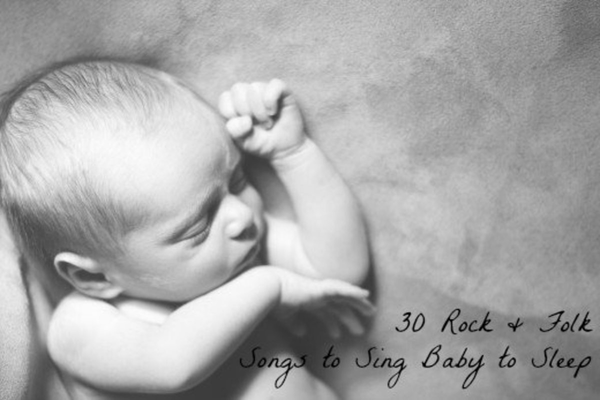 Explore these 30 rock and folk songs to help sing your baby to sleep.