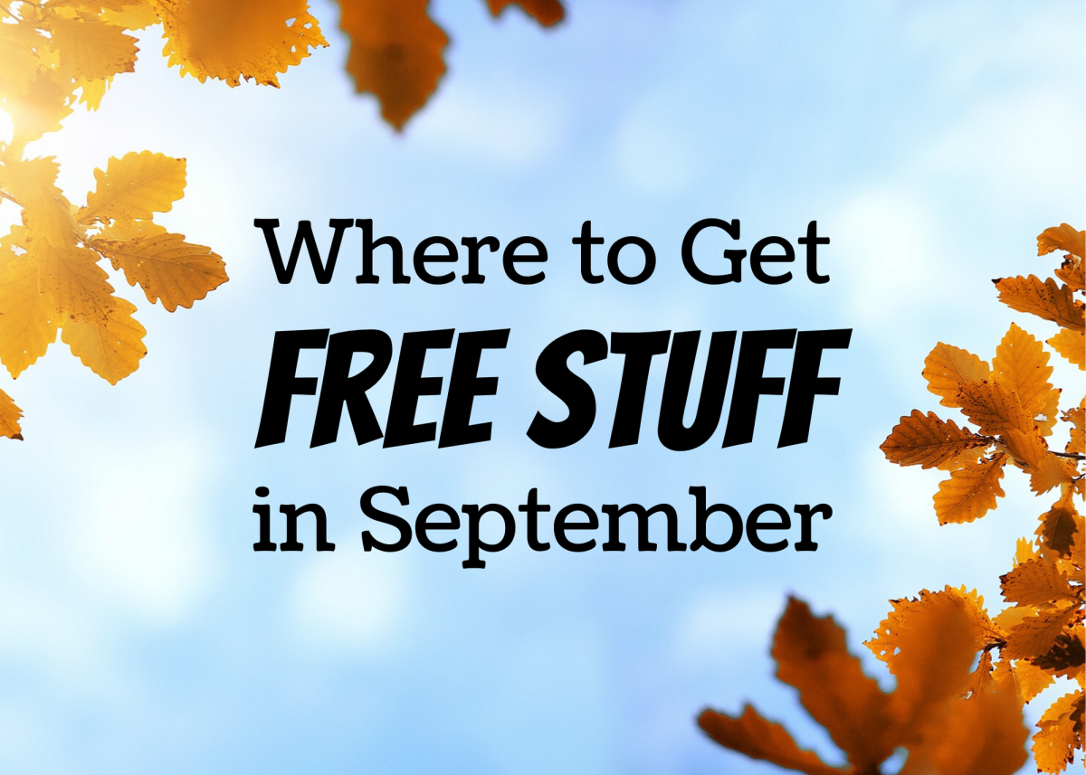 Take advantage of these deals for the month of September.