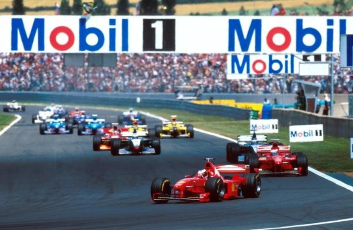 The 1998 French GP: Michael Schumacher's 30th Career Win