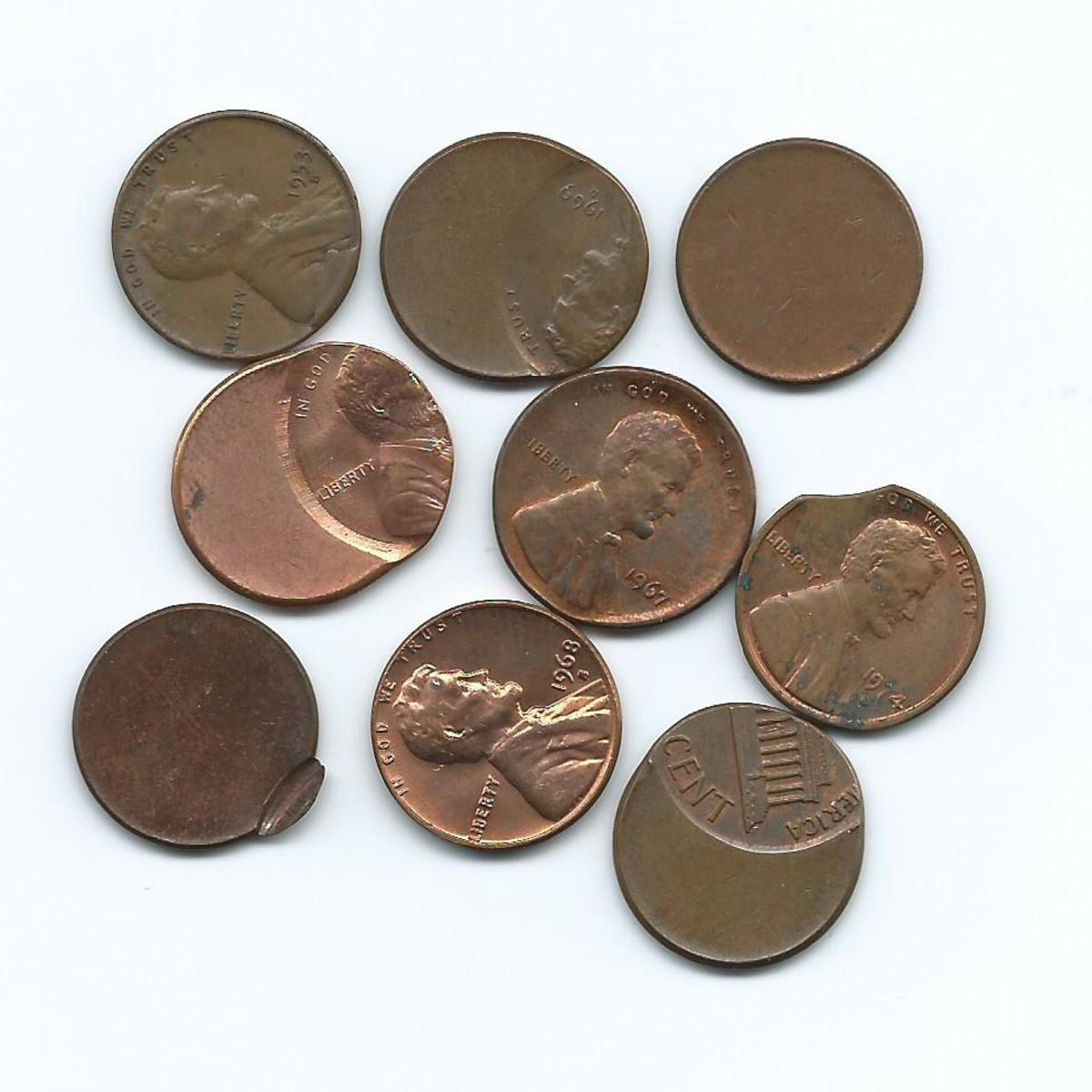 Error Lincoln Cents