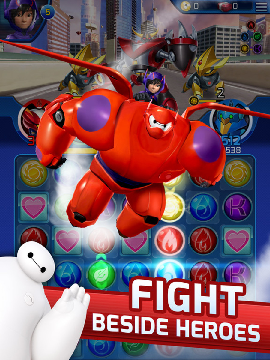 Big Hero 6 Bot Fight Review