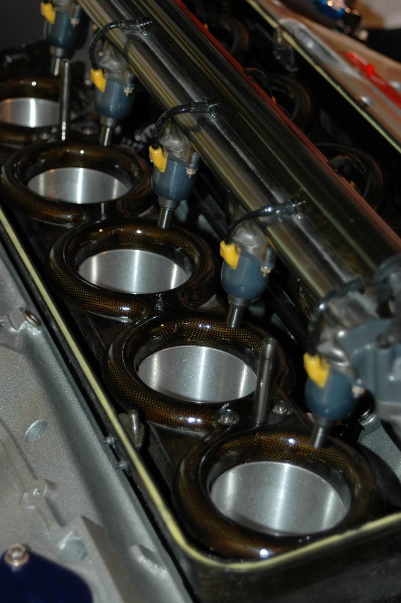 Automotive fuel injectors.