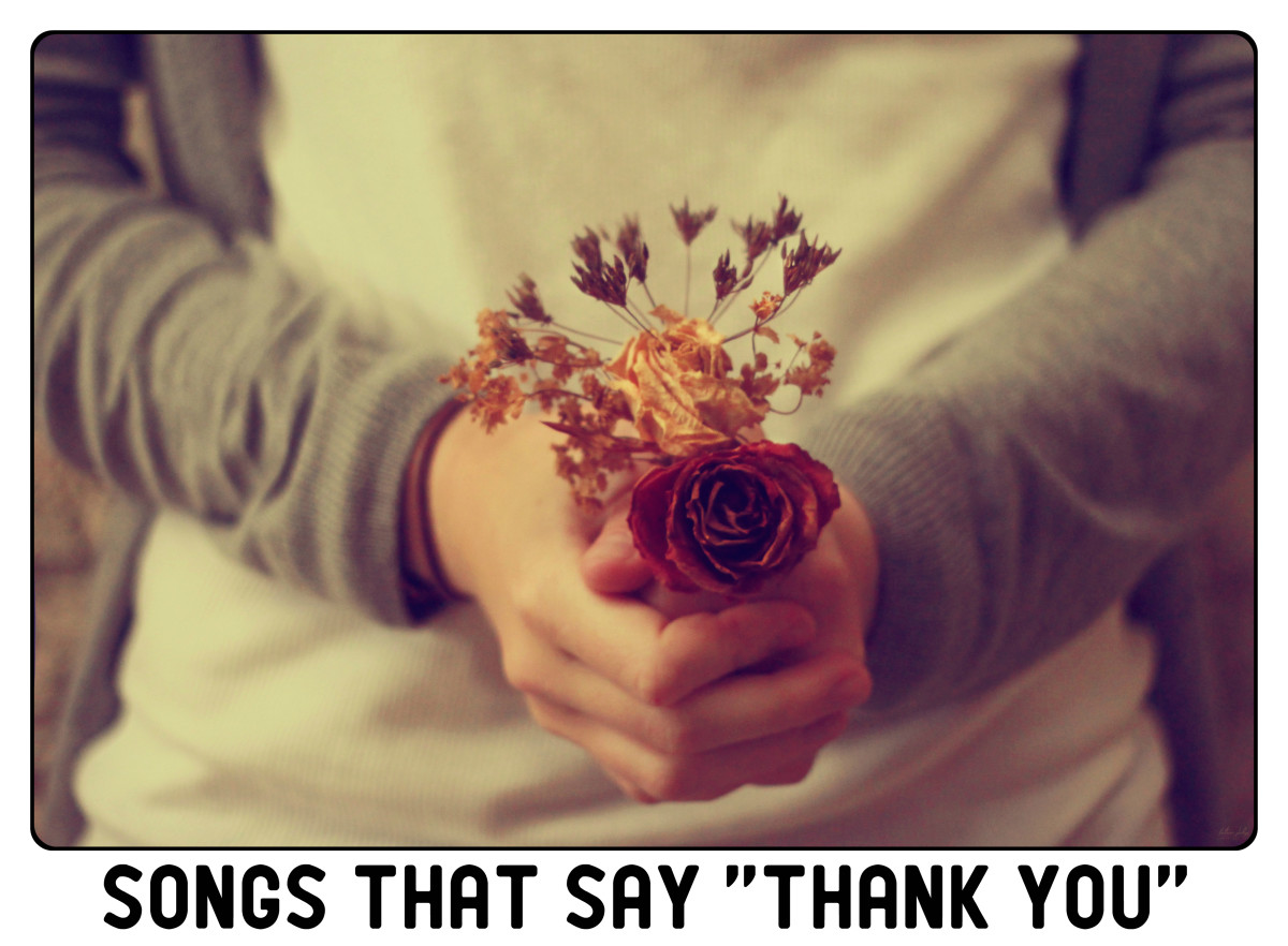 "Be thankful for the blessings in your life. We have a list of pop, rock, country, and R&B songs to help you say ""thank you."" Develop a custom playlist for someone you love."