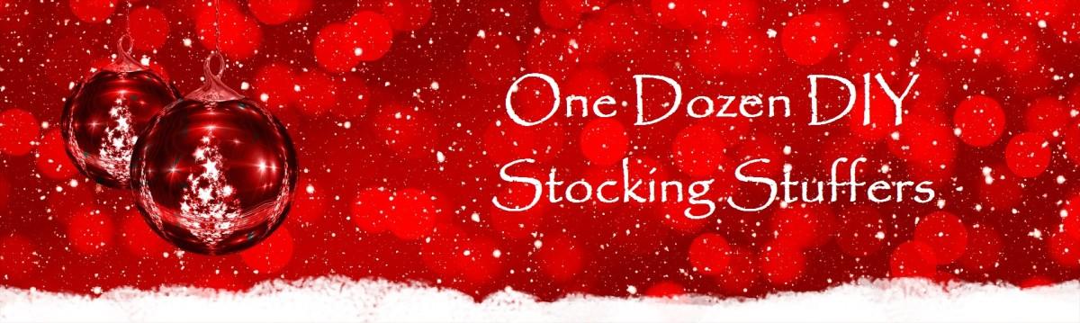 One Dozen DIY Stocking Stuffers