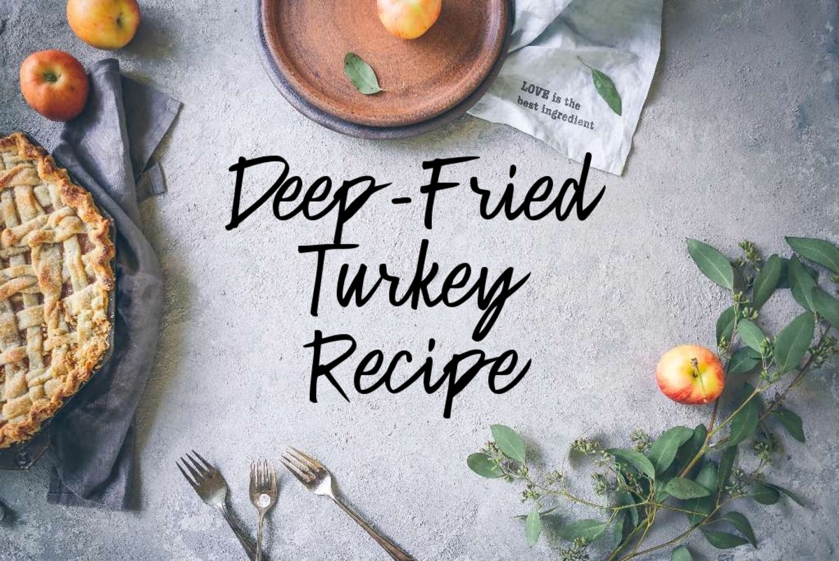 How to Deep-Fry a Delicious Christmas Turkey and Other Fun Foods