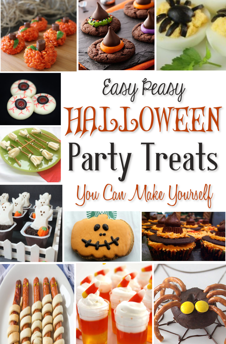 9+ Halloween School Party Snack Food Ideas