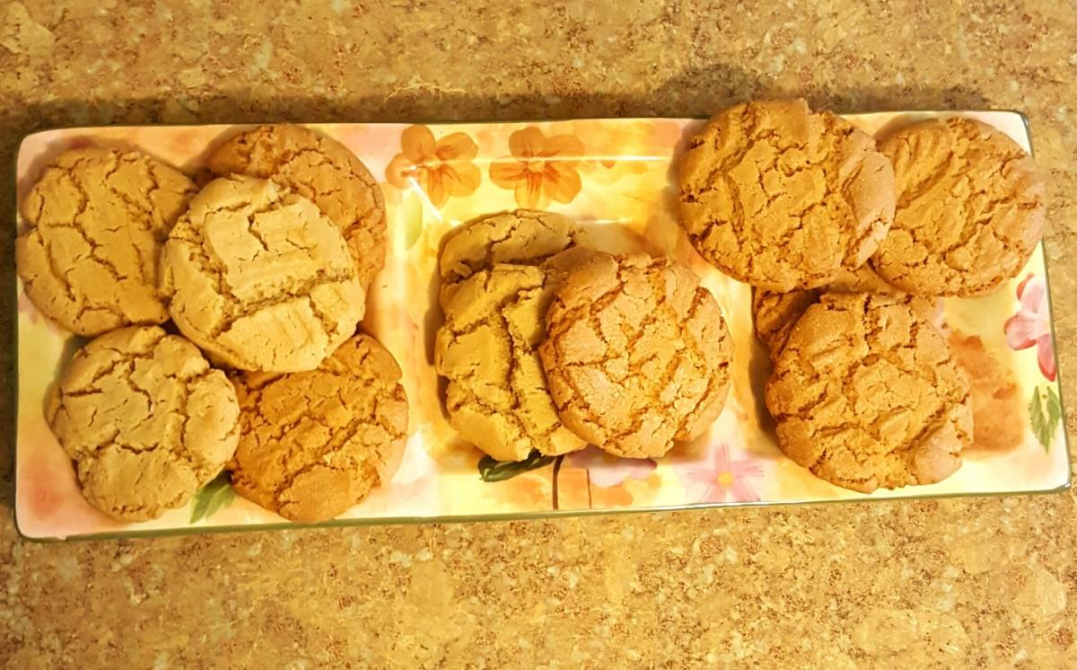 Peanut Butter Cookie Crispies