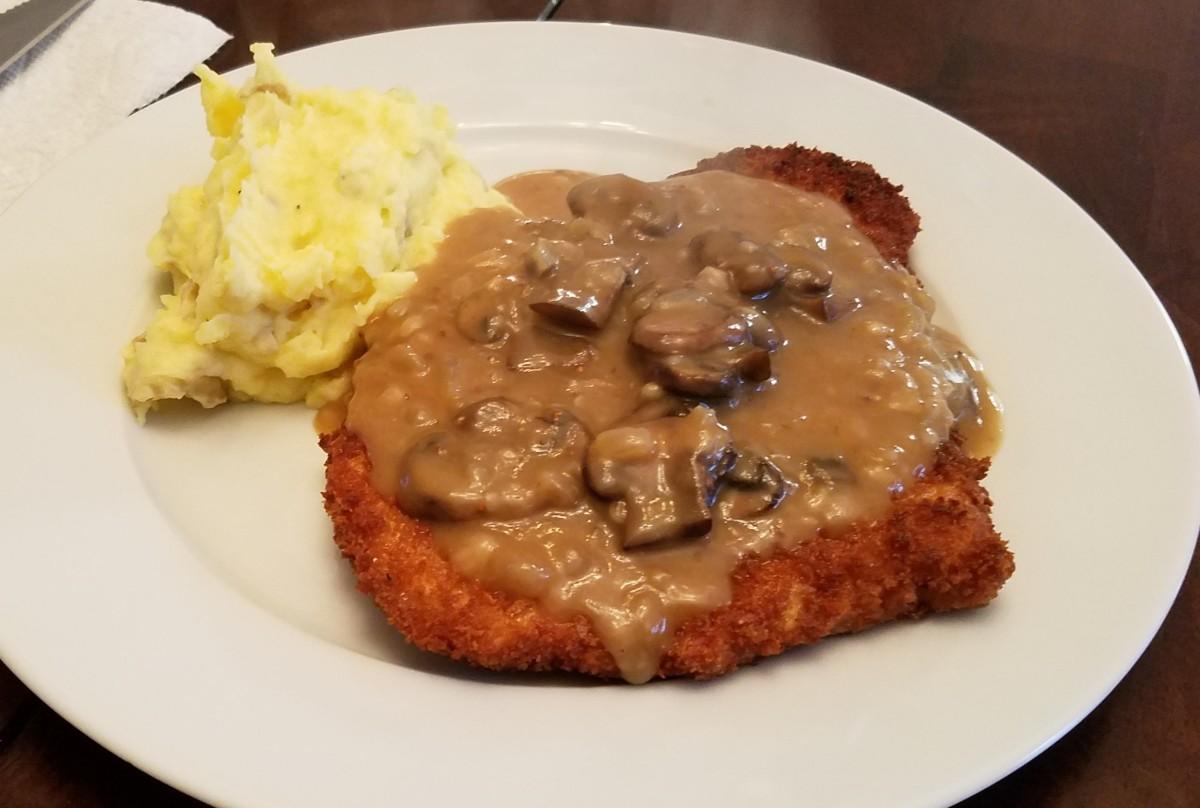 omas-schnitzel-and-jaeger-sauce-simply-delicious