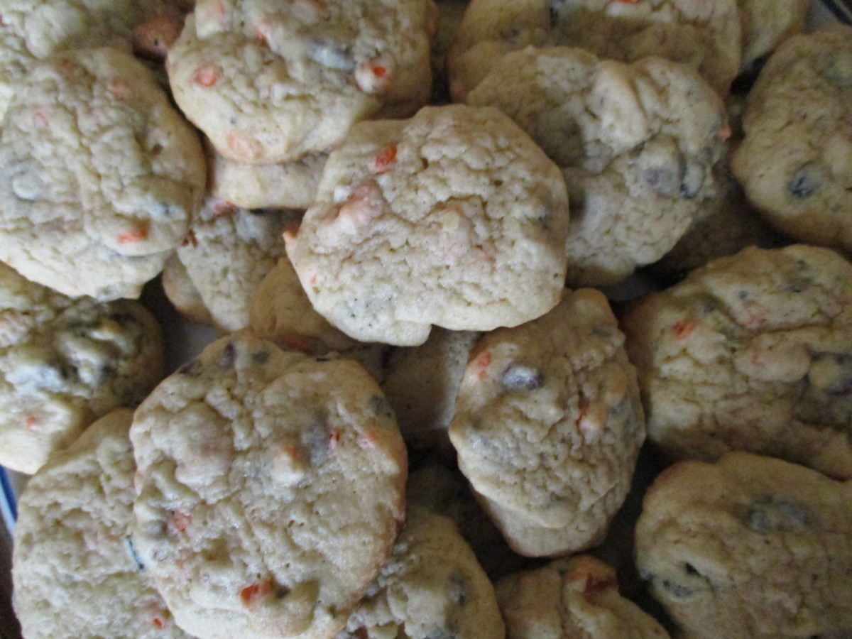 Mom's Cooking: How to Make Chocolate Chip Walnut Cookies from Scratch