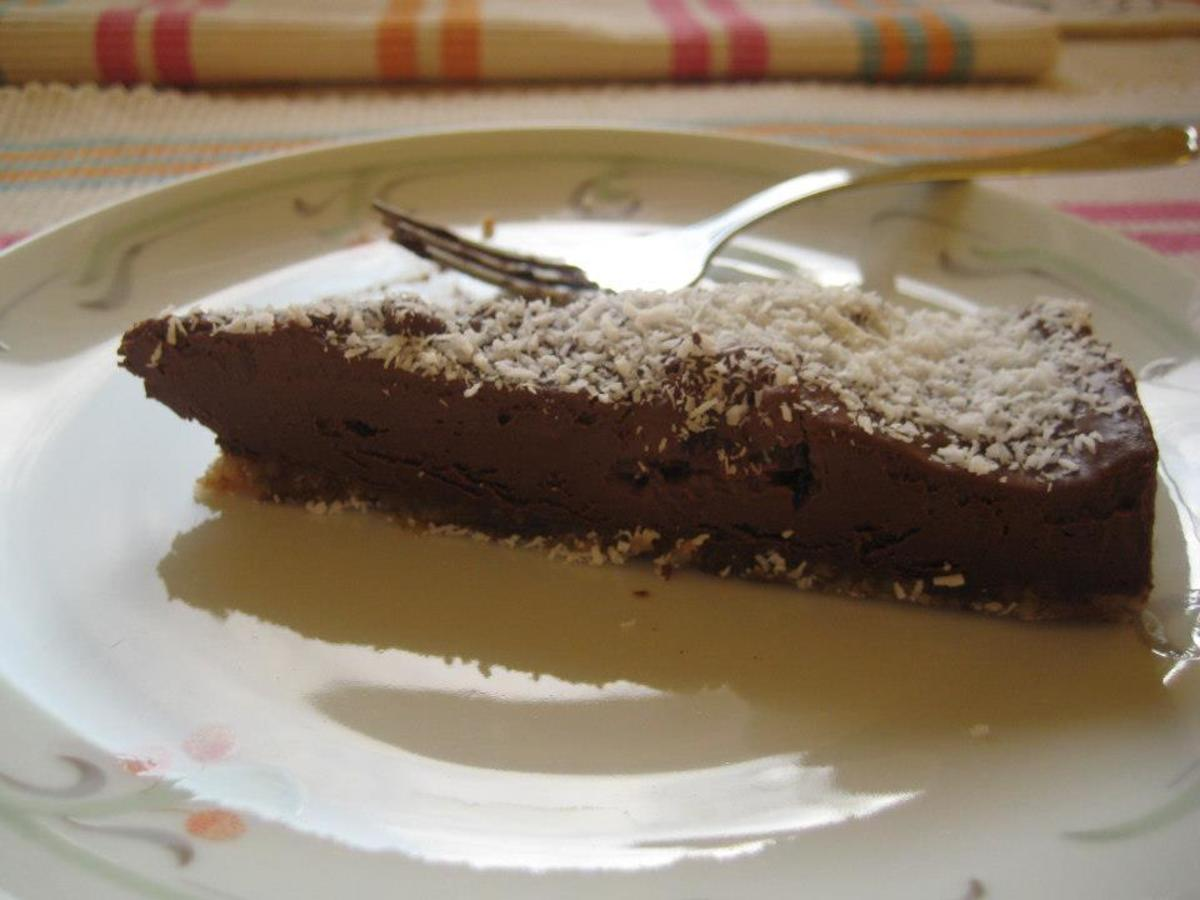 Sweet and Spicy—A Simple Raw Chocolate Cake