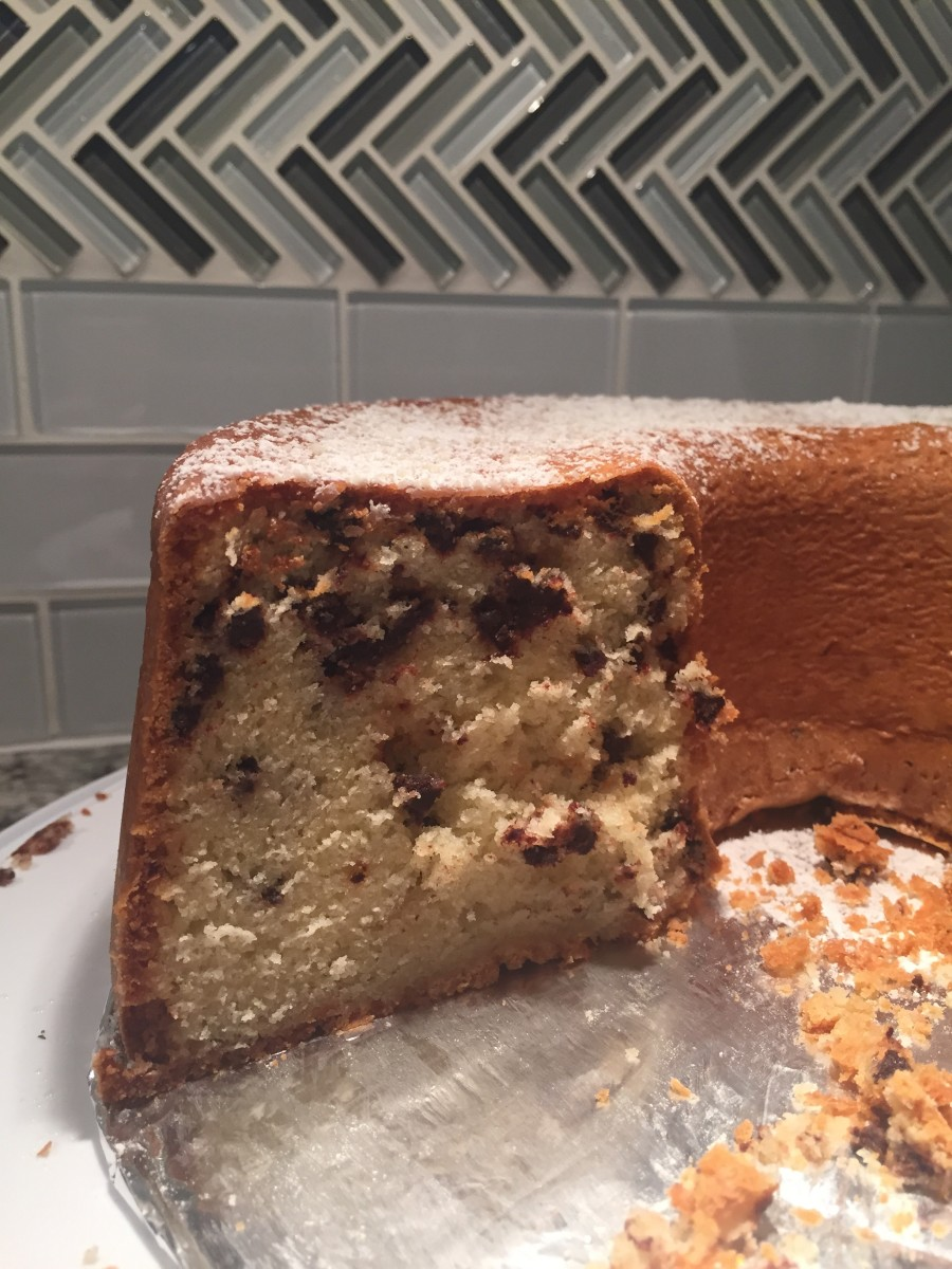 The Ultimate Chocolate Chip Pound Cake