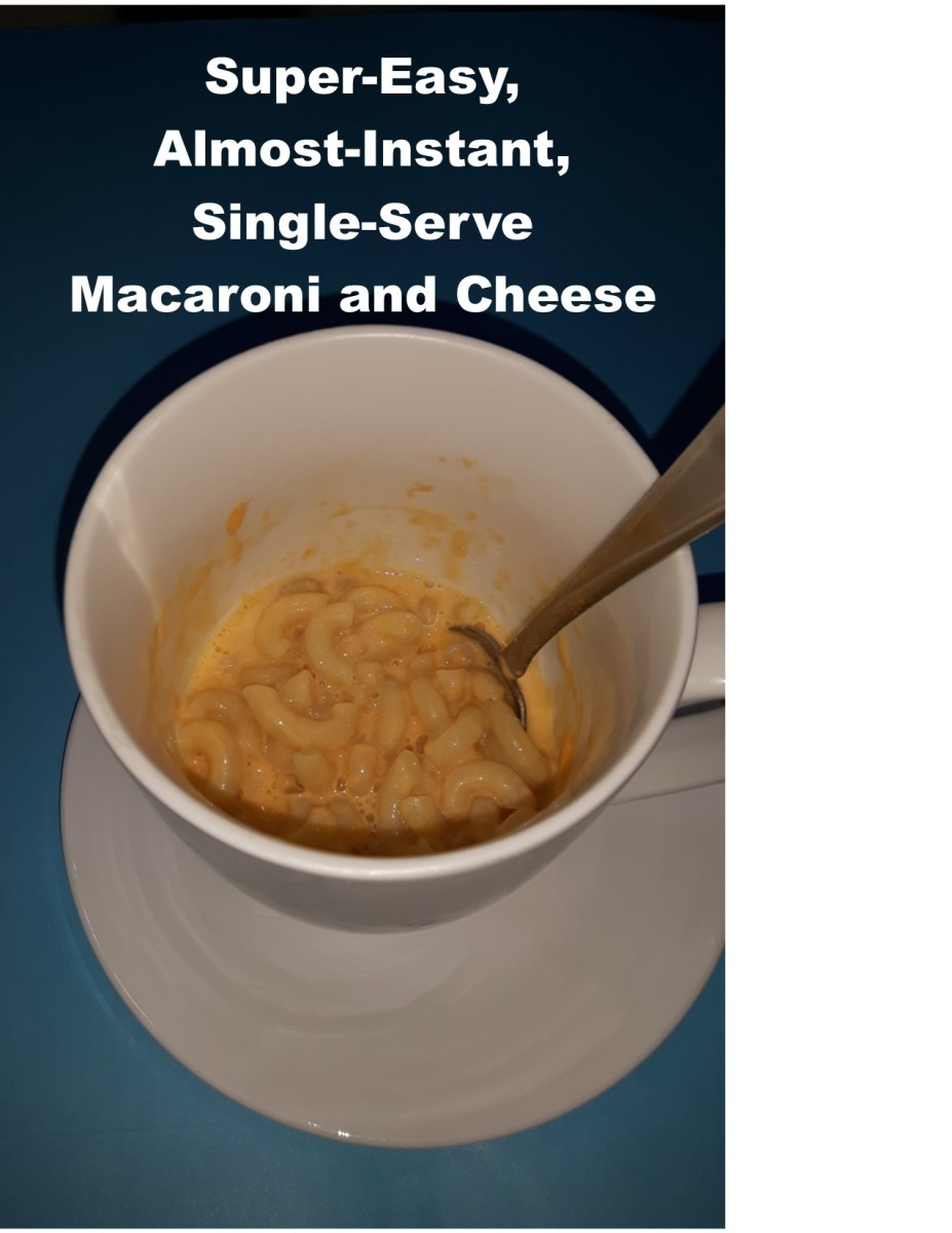 Super-Easy, Almost-Instant, Single-Serve Macaroni and Cheese