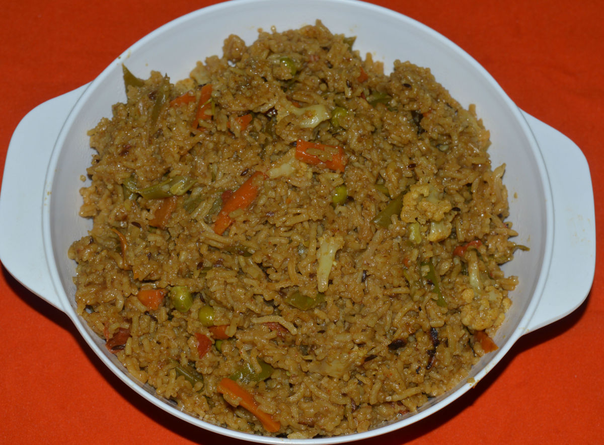 Easy Recipes: Making Vegetable Biryani in a Pressure Cooker