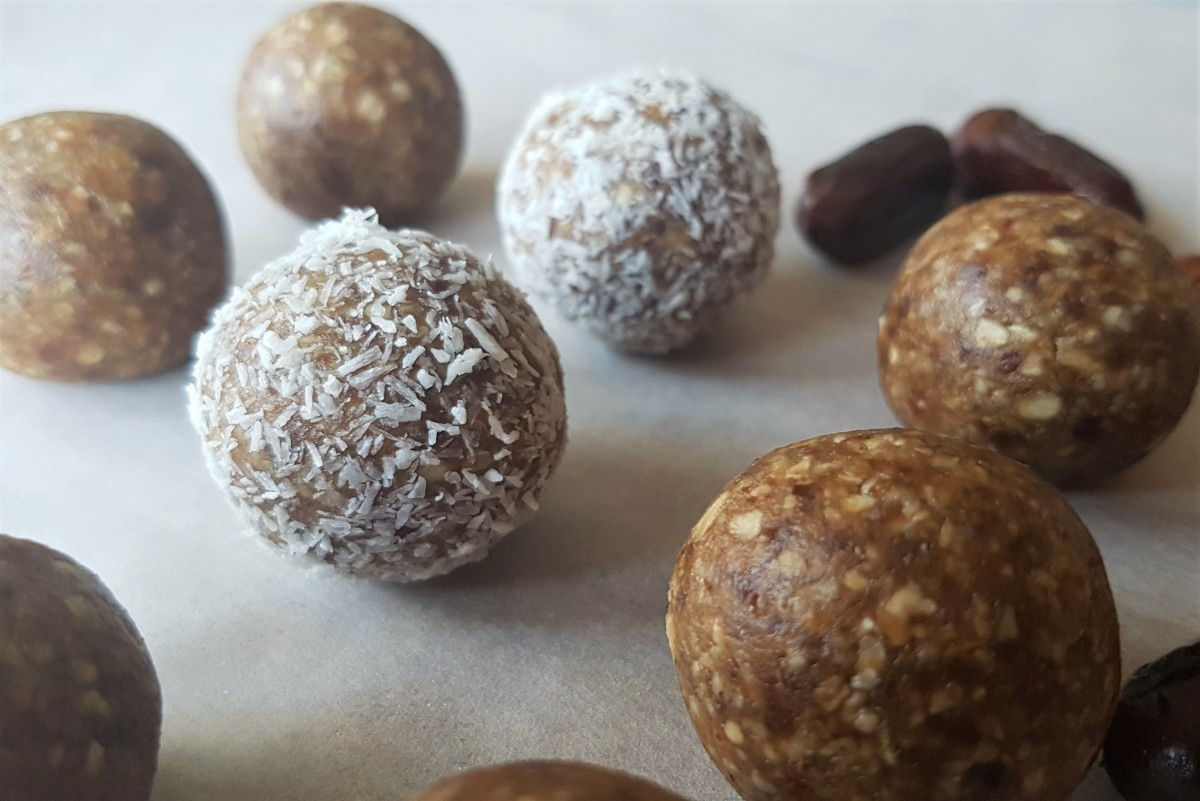 15-Minute Recipe: No-Bake Energy Balls With Dates