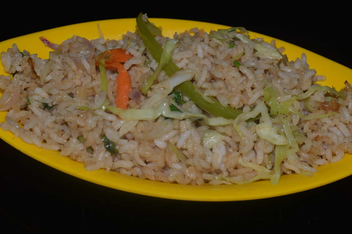 Cabbage Fried Rice Recipe