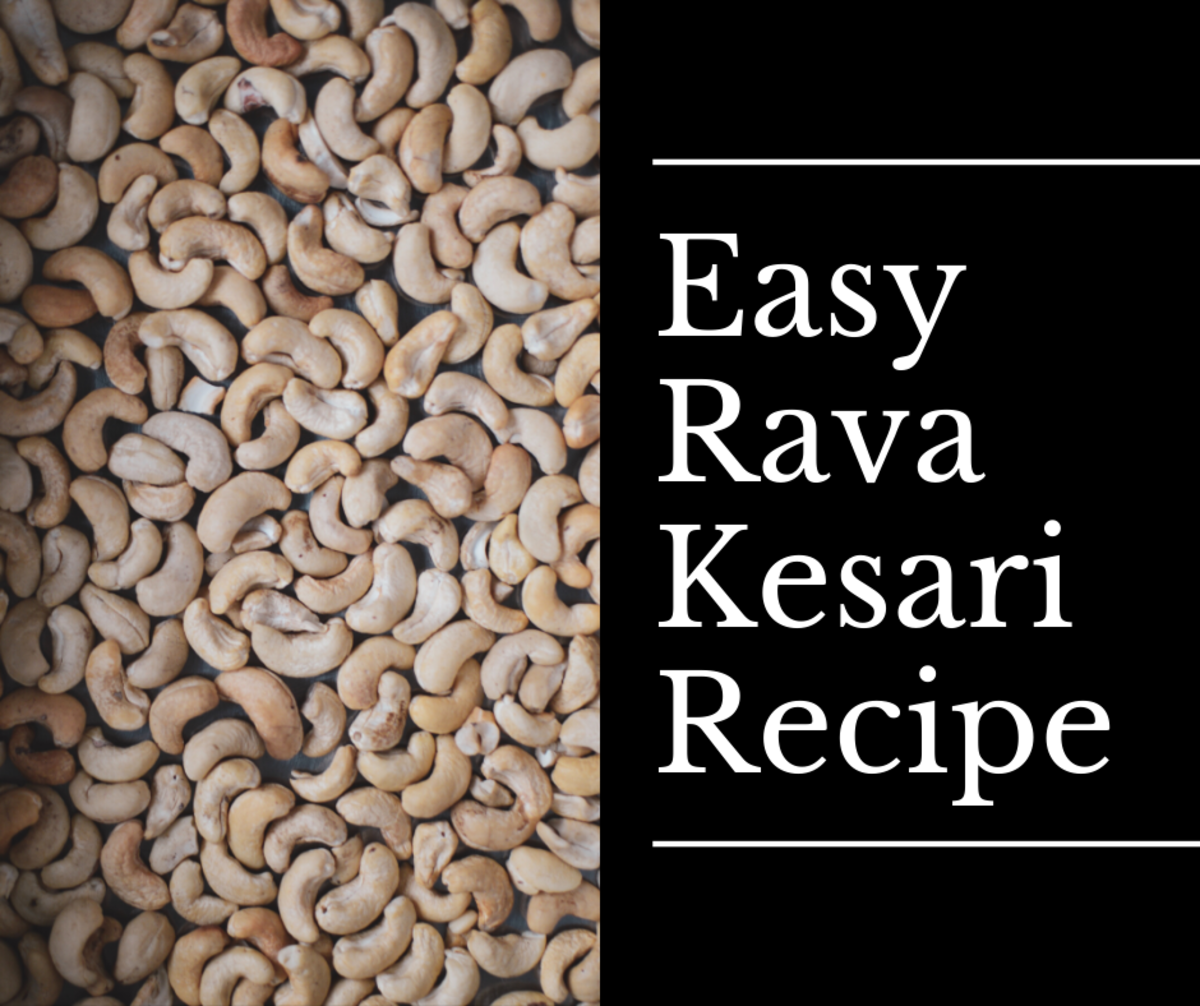 This rava kesari recipe is delicious and easy to make.