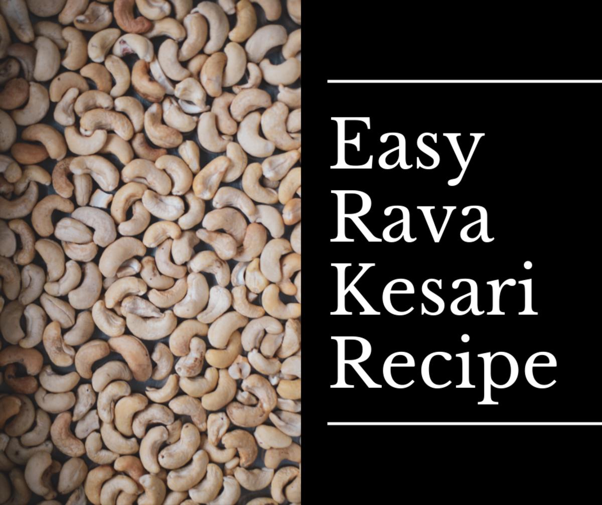 Easy Rava Kesari Recipe