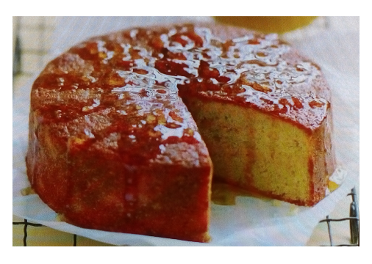 Luxurious and Delicious Lemon Syrup Butter Cake