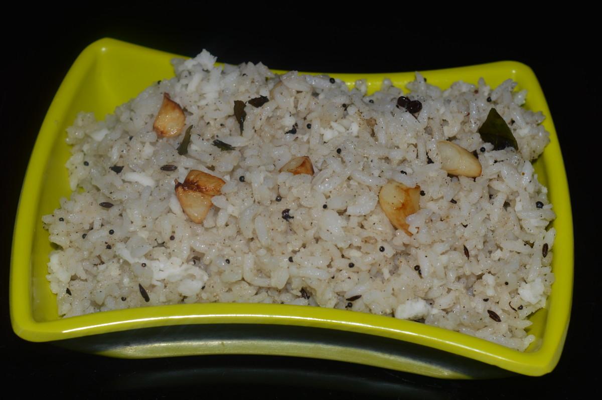 Healthy Recipes: Garlic Fried Rice Recipe