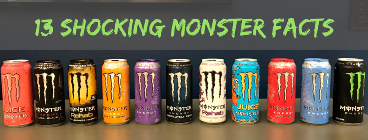 Top 13 Insane Monster Energy Drink Facts Delishably