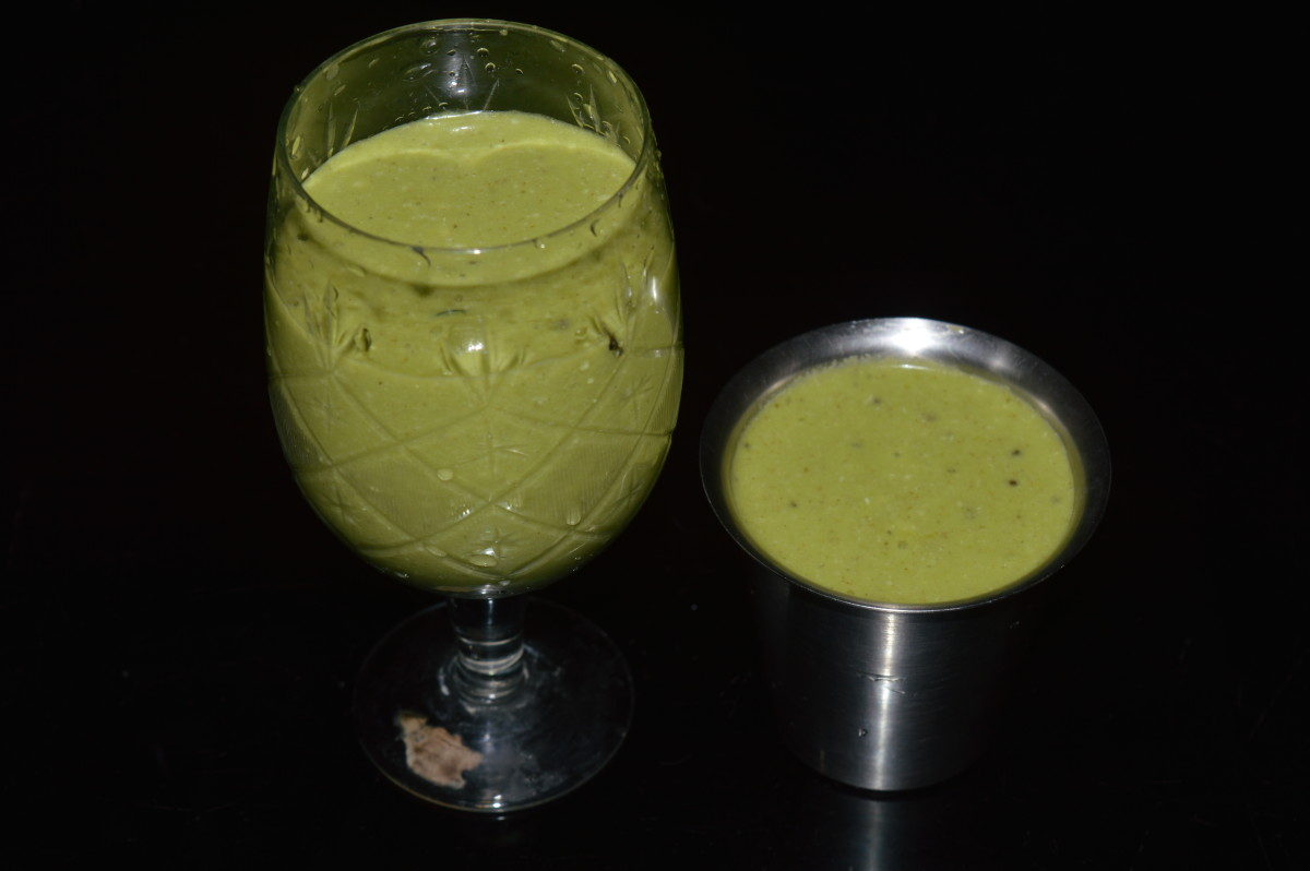 Oregano leaves beverage